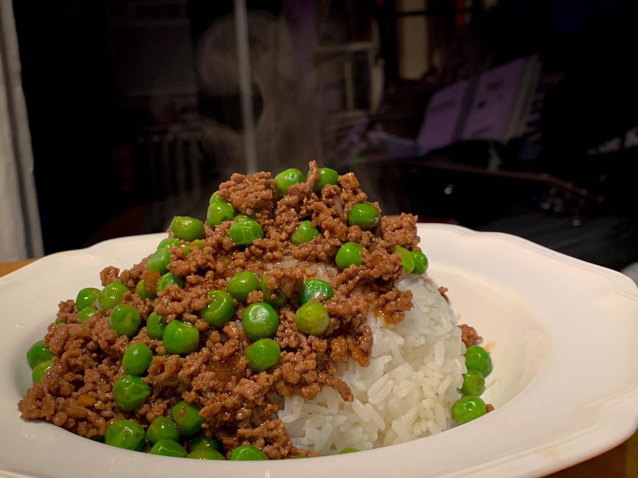Quarantine dinner #23 Peas with beef