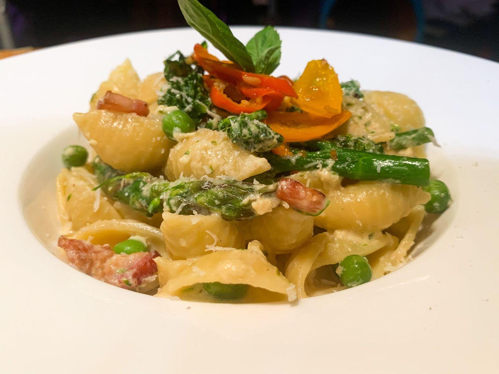 Quarantine dinner #36 Pasta